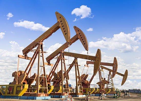 Yellow Oilfield Pumps